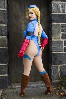 Elena Blueskies Cosplay as Cammy (Photo by HSL Photography)