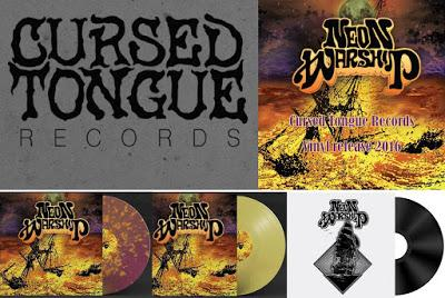 Newly established label Cursed Tongue Records Kickstarter  for their limited vinyl-only release of Neon Warship