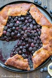Blueberry Galette (Paleo + Gluten Free)
