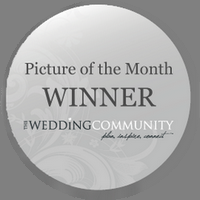 Badge for winning - Wedding Image of the Month