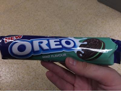 Today's Review: Mint Oreo