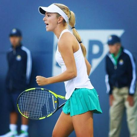 CiCi Bellis dream run at US Open ~ Stanford Univ connection !!