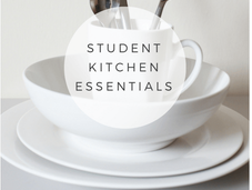 University: Student Kitchen Essentials
