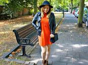 High Neck Dress Animal Pixie Boots Outfit Fashion