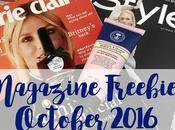 Magazine Freebies October 2016