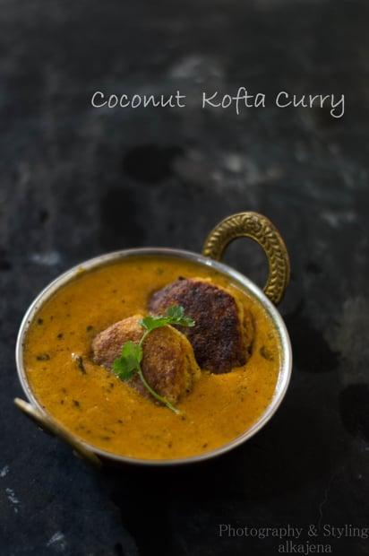 Coconut  Kofta Curry (Nadia Bara Tarkari)