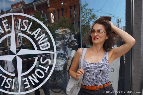 Dressing for a Trip Down Memory Lane {Toronto Day 1}