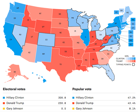 We Have Two New Electoral College Maps