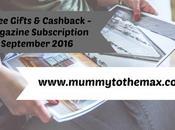 Magazine Subscription Free Gift Bargains September 2016