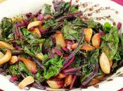 Beet Greens with Roasted Garlic
