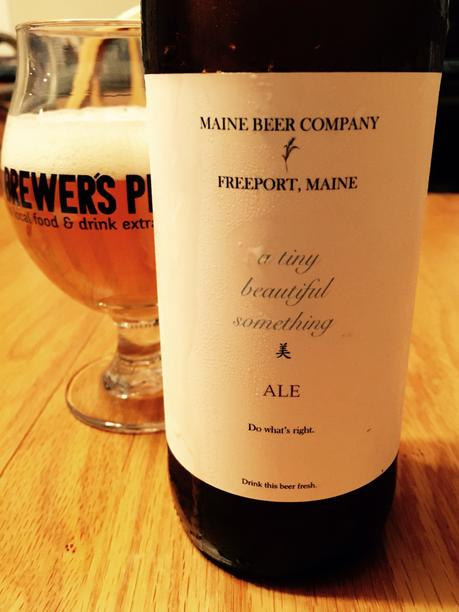 Beer Review – Maine Beer Company A Tiny Beautiful Something