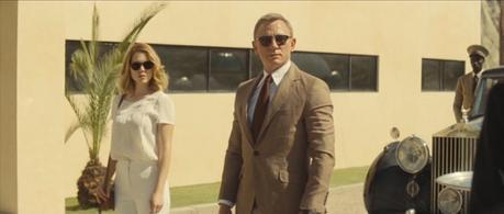 Bond greets his new host captor.