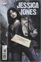 Jessica Jones #1 Cover - Maleev Variant