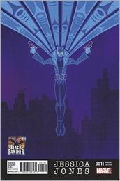 Jessica Jones #1 Cover - Veregge Black Panther Variant