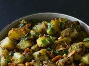 Moongphali Aloo Sabzi, Peanut Potato Stir