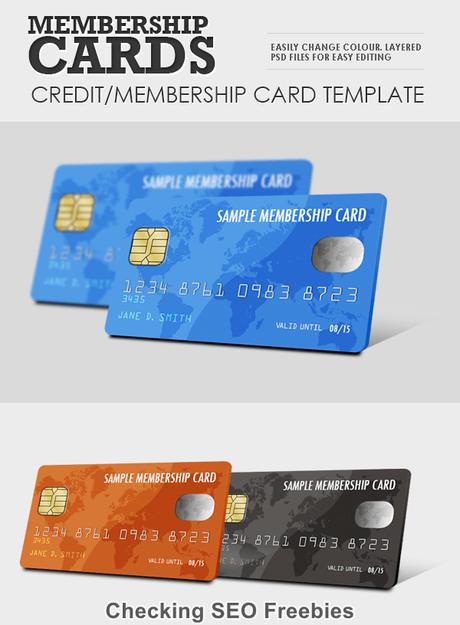 Download Member Card Smart Psd Template - Paperblog