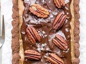 Chocolate Pecan Tart (Gluten Free, Paleo Vegan)