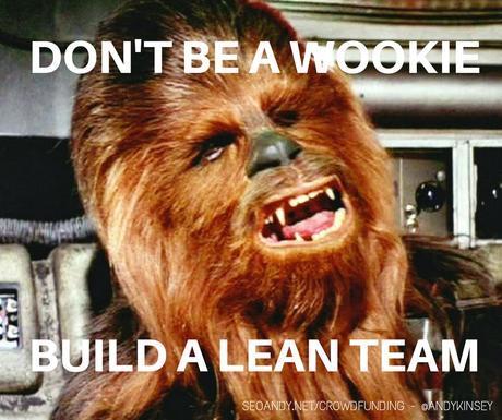 build a crowdfunding team around you