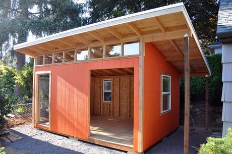 New Cedar Lee art studio, still under construction
