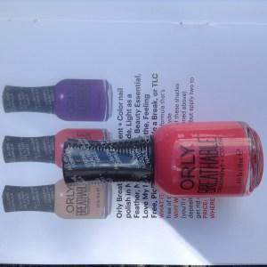 Orly Breathable Treatment + Color Nail Polish in Nail Superfood