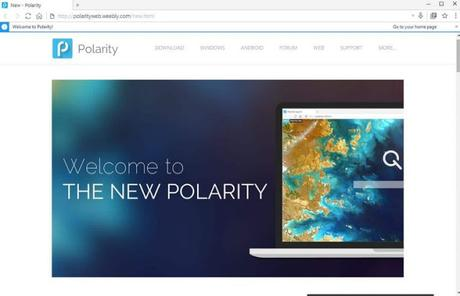 Download Polarity Web Browser Latest Version