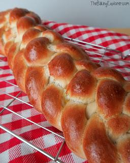 how to make a plaited loaf