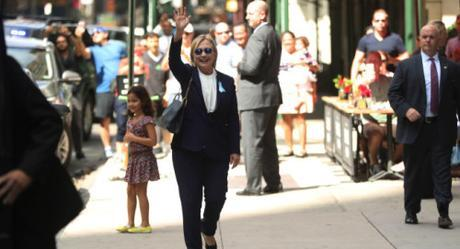 Hillary Clinton collapses at 9/11 memorial