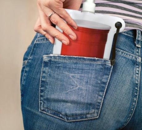 Pocket-Friendly Collapsible Flask