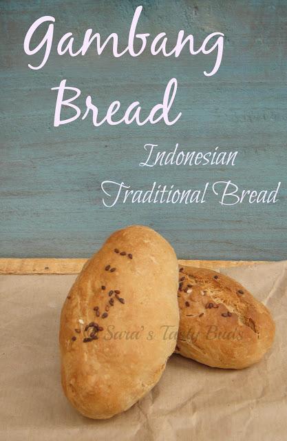 Roti Gambang   / Gambang Bread – Indonesian Traditional Bread