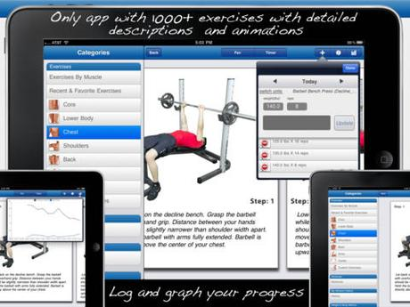 Download Fitness Buddy 1700 Exercises App for Android Free