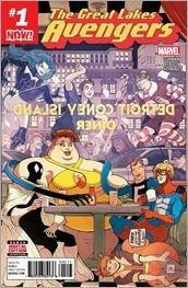Great Lakes Avengers #1 Cover