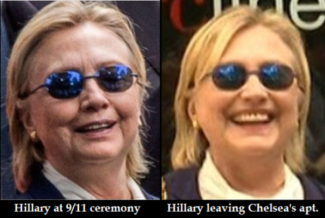 Crooked Hillary Uses a Body Double