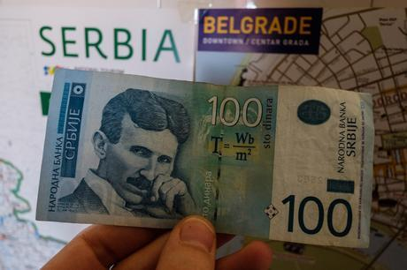 The 100 Dinar note is possibly the coolest in the world.
