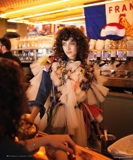 Sarah Engelland in Viktor and Rolf Haute Couture © Benjamin Kanarek