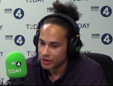 Adam Elliott Cooper interview on Radio 4 Black Lives Matter