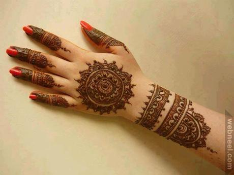 Easy Mehndi Tutorial : Easy mehndi designs with video tutorials paper