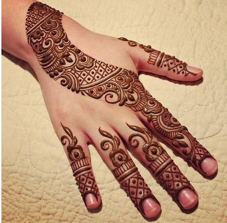 easy mehndi designs with video tutorials   paperblog