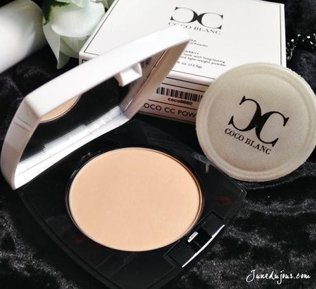 Make your face the flawless canvas with Coco Blanc AURA Foundation Stick & AURA CC Pressed Powder