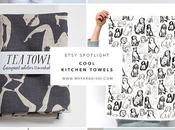 ETSY SPOTLIGHT: Cool Kitchen Towels
