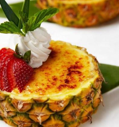 Pineapple Creme Brûlée