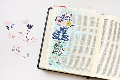 Pinkfresh Studio Design Team  : Journaling Bible + Layout