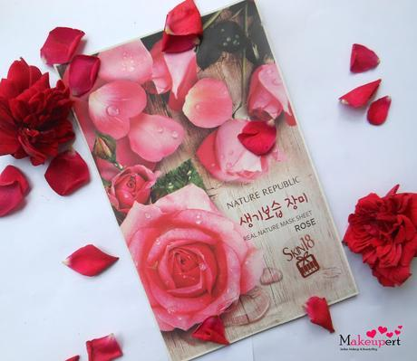 Review: Nature Republic Real Nature Sheet Mask - Rose
