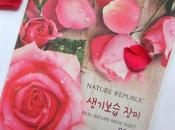 Review: Nature Republic Real Sheet Mask Rose