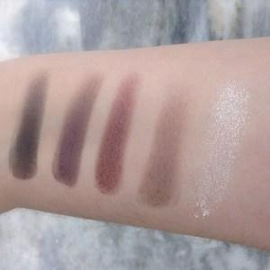 E.L.F. Clay Eyeshadow Palette in Smoked To Perfection swatch