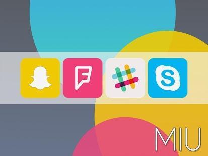 Miu - MIUI 6 Style Icon Pack - screenshot thumbnail
