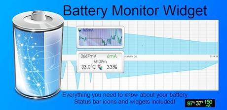 Image result for 3C Battery Monitor Widget Pro Apk