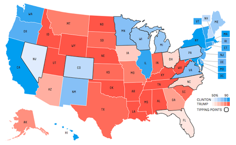 latest electoral projections The projections for each state are based on the the chart below shows the most likely electoral vote it uses the latest voting results in completed.