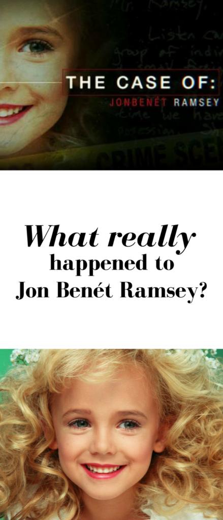 The death of Jonbenet Ramsey