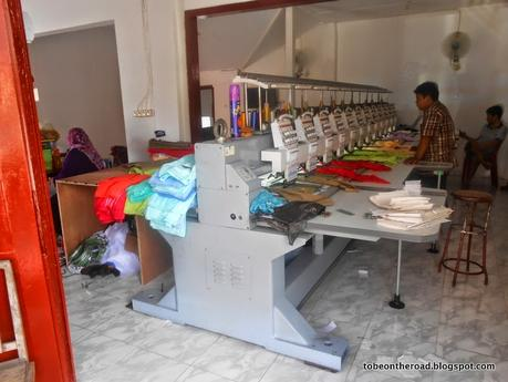 Have You Ever Seen Catching Prints In Jogja Embroidery Loom Works