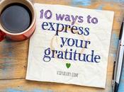 Ways Express Gratitude